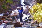 водопад на Белой